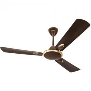 Usha Striker Platinum 1200mm 80-watt Goodbye Dust Ceiling Fan with Anti Dust Feature (Deep Metallic Brown)