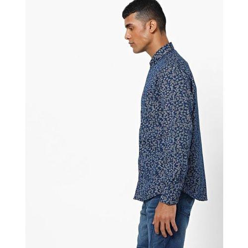 NETPLAY Floral Print Slim-Fit Shirt