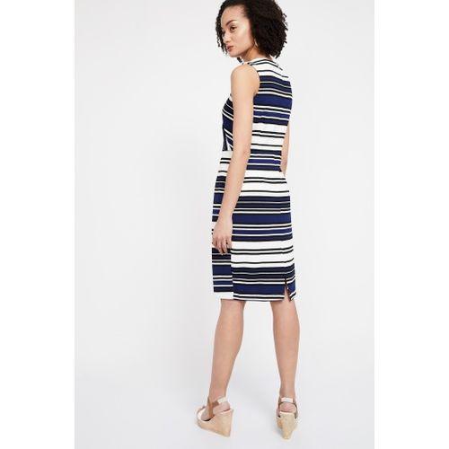 VAN HEUSEN Striped Sleeveless Dress