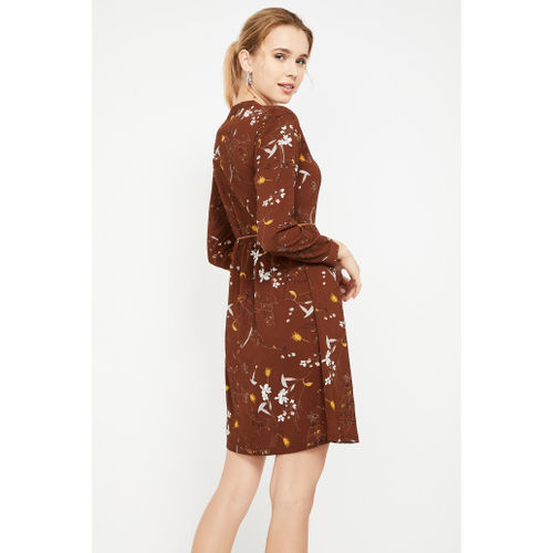 LEE COOPER Floral Print Full Sleeves Dress