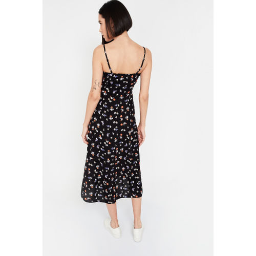 GINGER Floral Print Camisole Maxi Dress