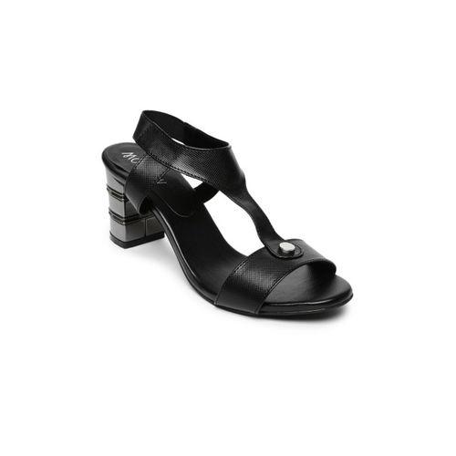 Monrow Women Black Heels
