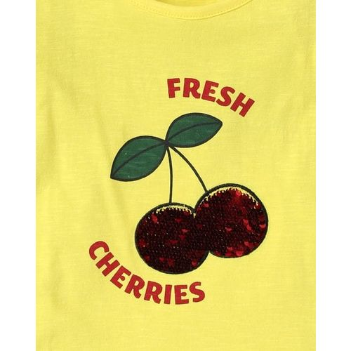 KG FRENDZ Round-Neck T-shirt with Reversible Sequins