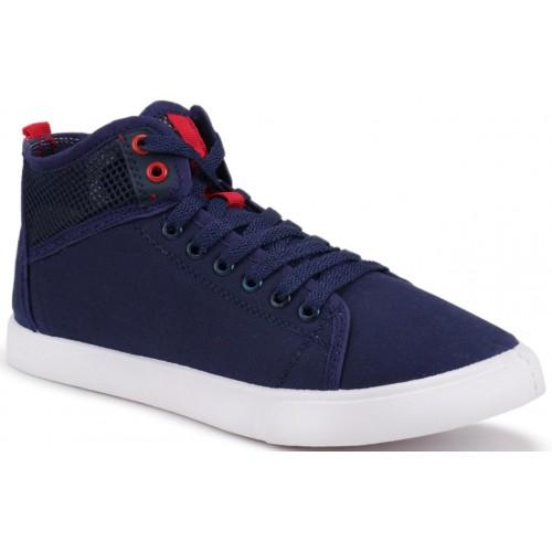 Clymb Navy Blue Sneakers For Men