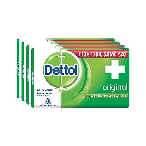 Dettol Original Soap, 75g (Pack Of 4)