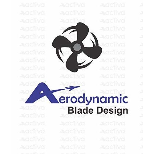 ACTIVA 1200 MM HIGH Speed 390 RPM BEE Approved 5 Star Rated APSRA Ceiling Fan White- 2 Year Warranty