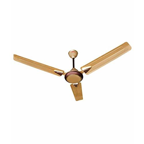 Activa 1200 MM high Speed 390 RPM BEE Approved 5 Star Rated 100% Copper Galaxy-1 Anti Dust Coating Ceiling Fan Golden Beige-2 Year Warranty