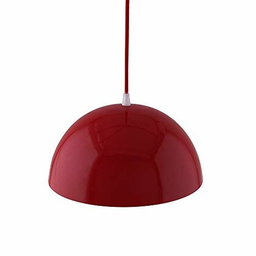 Homesake Metallic Red Glossy Pendant Hanging Light, Hanging Lamp 10