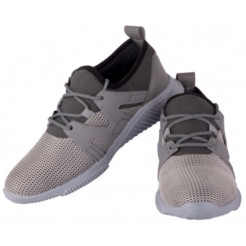 Woakers Men's Grey Sports Shoes