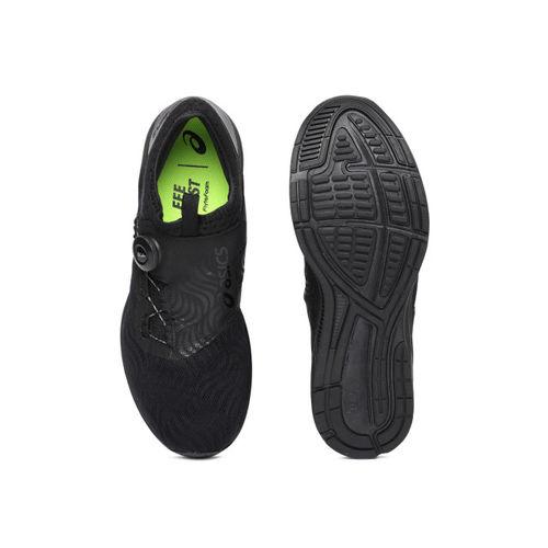 ASICS Men Black Dynamis 2 Running Shoes