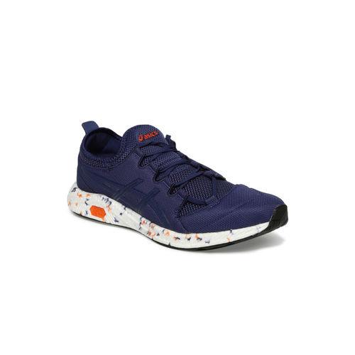 ASICS Men Navy Blue HyperGEL-SAI Running Shoes