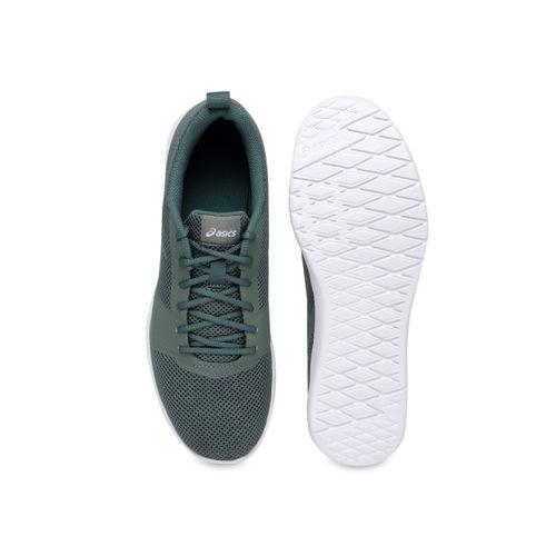 ASICS Men Green Running Shoes