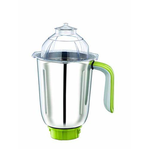 Bajaj Twister Deluxe 750-Watt Mixer Grinder with 3 Jars (White)