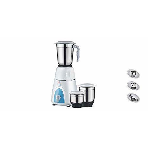 Bajaj GX 3 500-Watt Mixer Grinder (White)