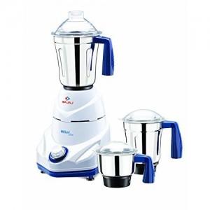 Bajaj Helix New 750-Watt Mixer Grinder (White)