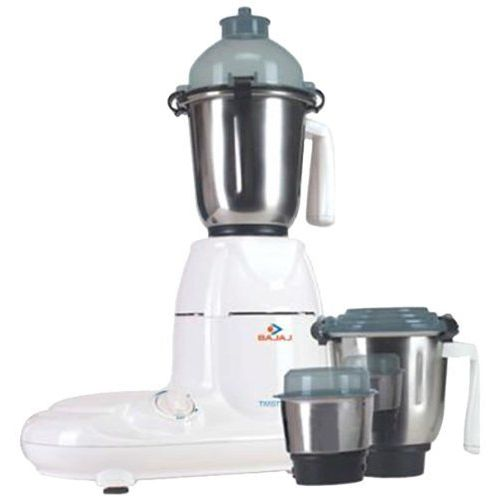Bajaj Twister 750-Watt Mixer Grinder with 3 Jars