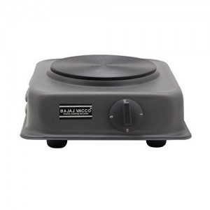 BAJAJ VACCO Electric TAWA HOT Plate 1500 WATT PC W/REG HPT-02 - (Black)