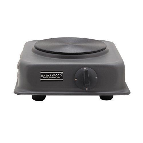 BAJAJ VACCO Electric TAWA HOT Plate 1500 WATT PC W/REG HPT-02 - (Black)