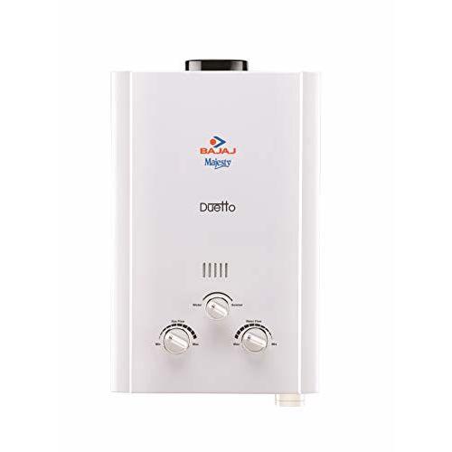 Bajaj Majesty Duetto LPG 6-Litre Water Heater (White)