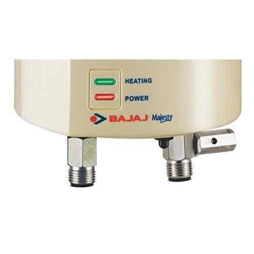 Bajaj Majesty 1-Litre 3000-Watt Instant Water Heater (Ivory)