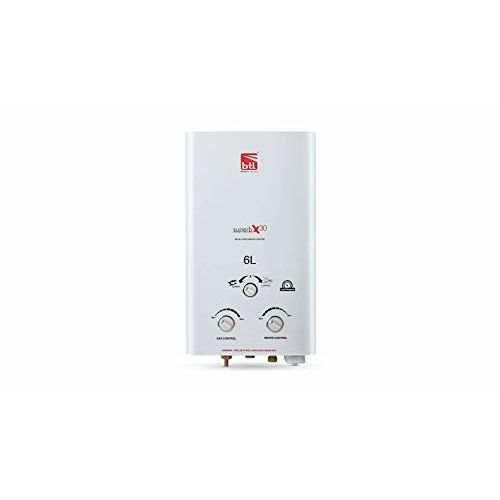 Generic BTL Bajaj 6 L Gas Water Geyser (White, Bajaj Superb X30)