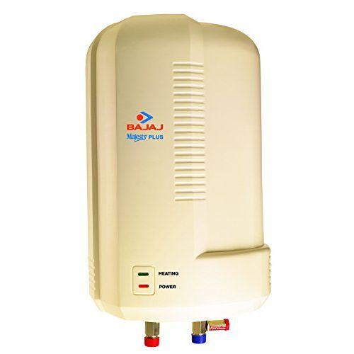 Bajaj Majesty Plus 6-Litre 3000-Watt Stainless Steel Storage Water Heater