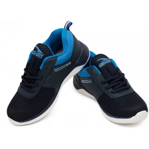 Asian Blue Lace Running Shoes