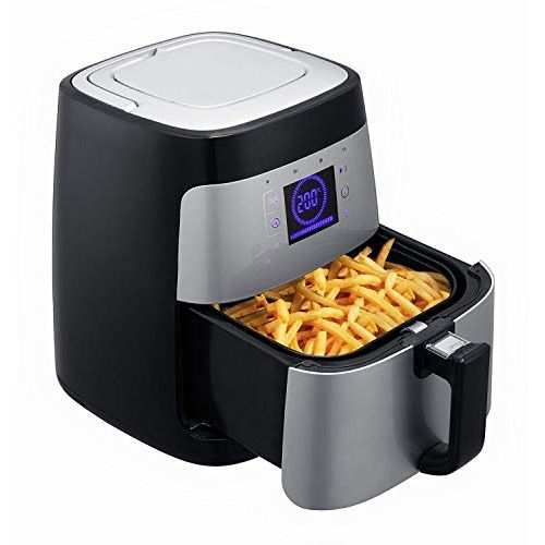 BMS Lifestyle 2.5 Liters Up to 200 C 1400 Watt LED Display Air Fryer (2.5 L)