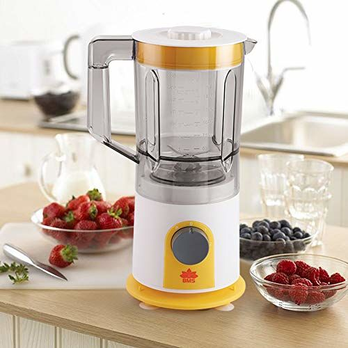 BMS Lifestyle 900W ABS Smoothie, Juicer, Mixer, Grinder, Blender with 18000 Rpm High Speed Motor, BPA-Free (White)