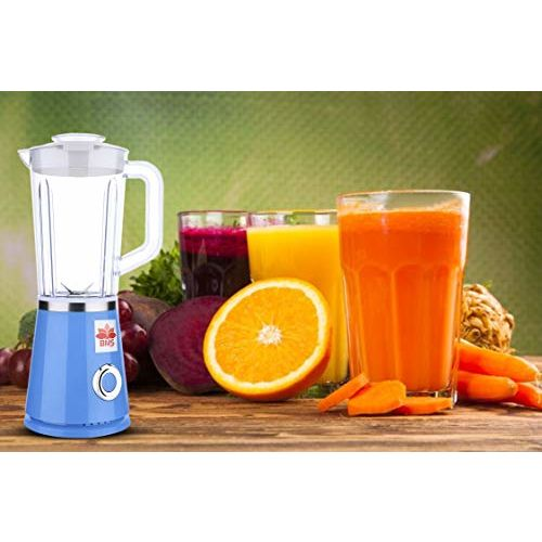 BMS LIFESTYLE Blender, Smoothies Blender with Tritan BPA Free Sport Bottle and 1 Travel Lids for Morning Smoothie or A Post-Workout Protein Shake,