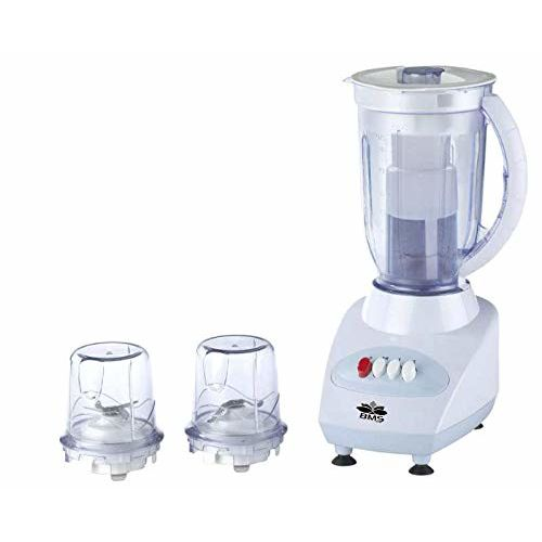 BMS Lifestyle Plastic CH Juicer Mixer Grinder (Colour May Vary, 250 W)