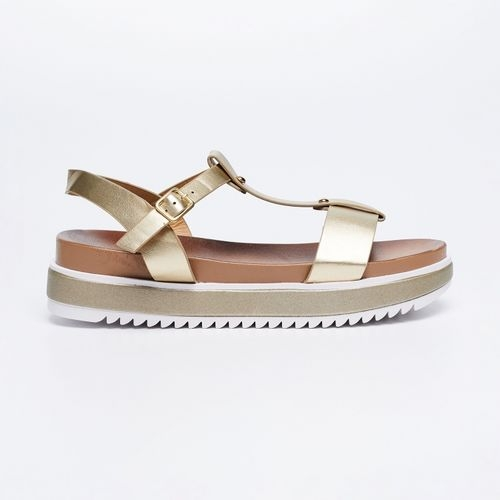 Ginger by Lifestyle Golden TPR Sandals