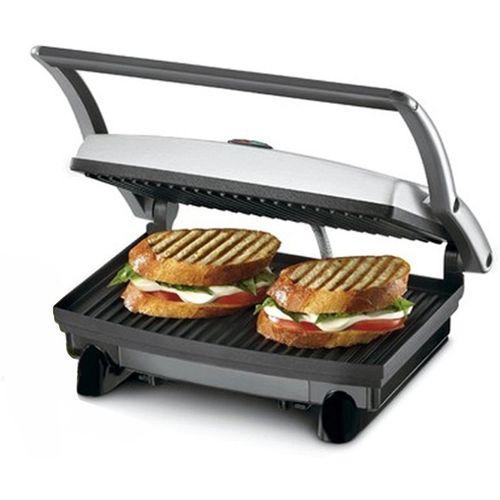 Nova 2 Slice Panni Grill Sandwich Maker Grill, Toast(Black)