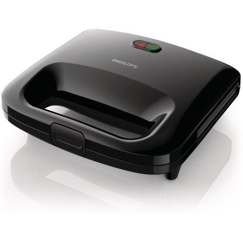 Philips Panini Maker Grill, Toast(Black)