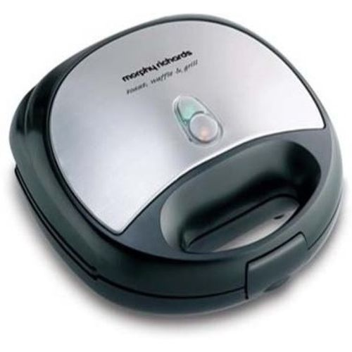 Morphy Richards SM3006 Toast(Black, Silver)