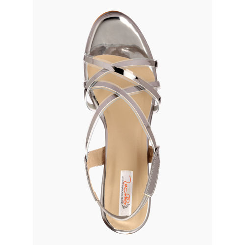 Zachho Grey Solid Sandals