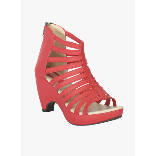 Zachho Red Synthetic Solid Gladiators