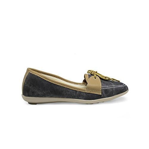 Zachho Active and Cool Black Imported Foam Women's Loafers