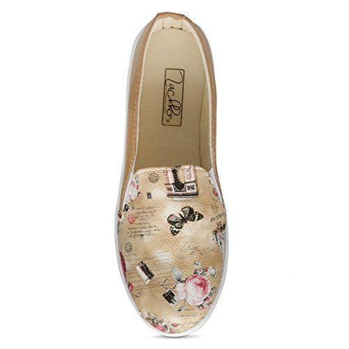 Zachho Stylish and Trendy Brown Imported Foam Women's Plimsolls