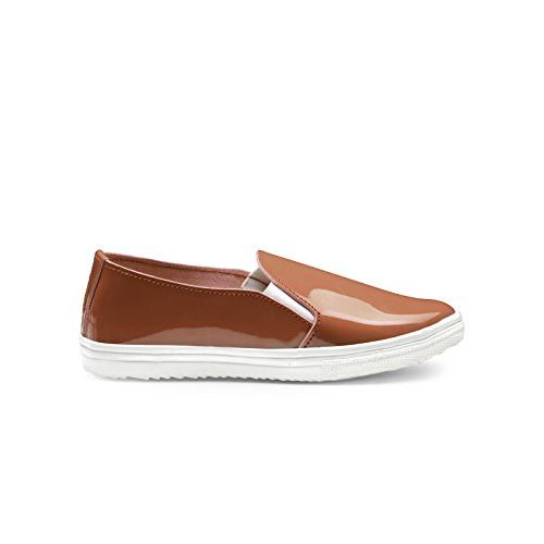 Zachho Active and Cool Rust Patent Women's Casuals