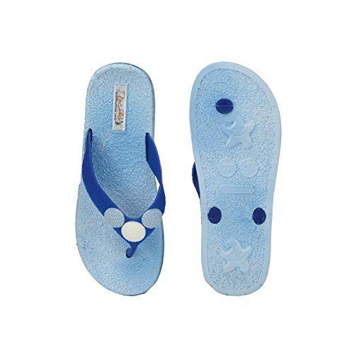 Zachho Blue Eva Eva Flats Slip On Flip Flops