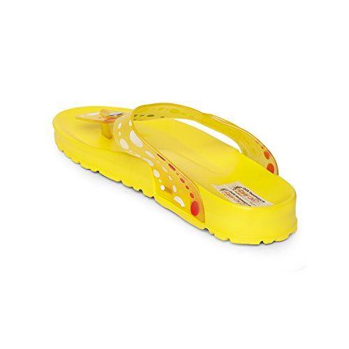 Zachho Yellow Women's Flip Flops. Size 41