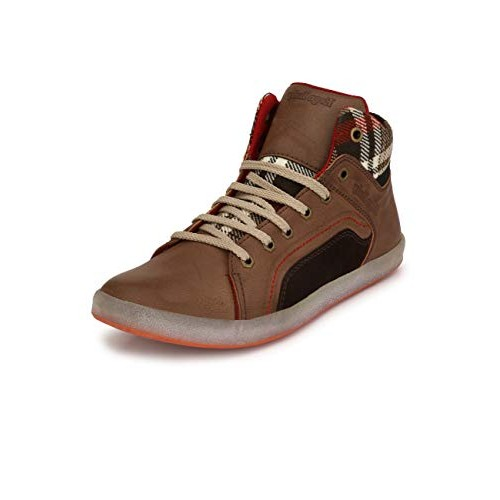 Eego Italy High Top Boots Brown