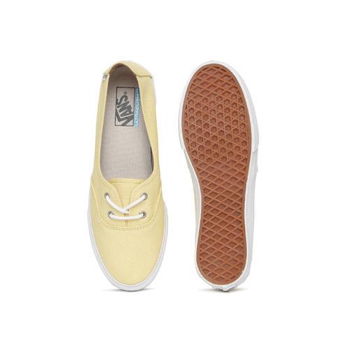 Vans Unisex Yellow Sneakers