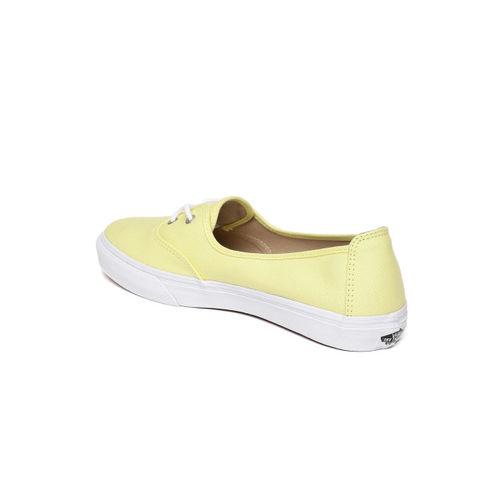 Vans Unisex Yellow Solana Sneakers