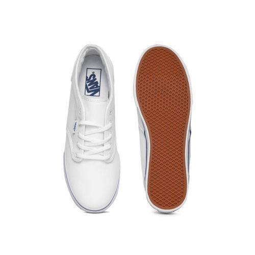 Vans Women White Sneakers
