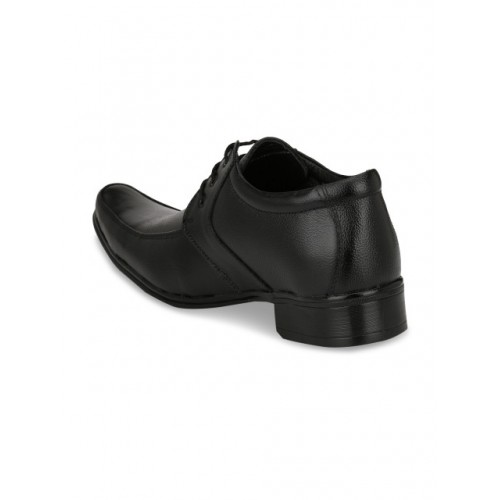 Eego Italy Men Black Solid Formal Derbys