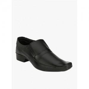 Eego Italy Black Regular Slip-On Shoes