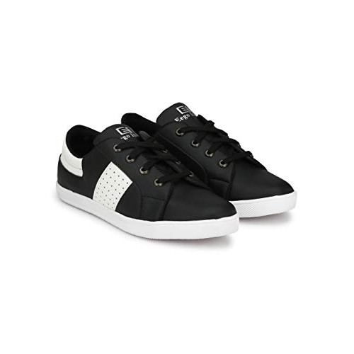 Eego Italy Casual Lace Up Shoes Black