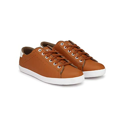Eego Italy Casual Lace Up Shoes Tan